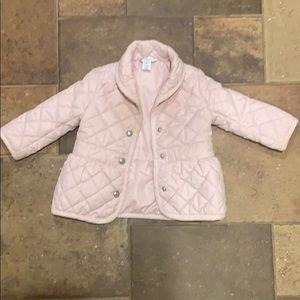 Baby girl spring puff jacket